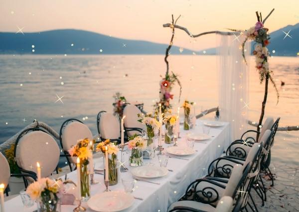 idéé décoration réception de mariage